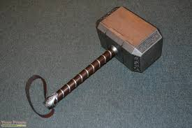 thor the dark world mjolnir hammer replica movie prop