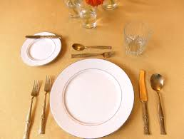 seriously simple dining etiquette guide american and continental