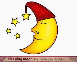 moon clipart moon clipart sleeping moon clipart