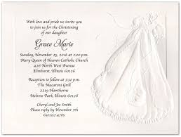 baptism invitations embossed christening gown baptism christening invitations storkie