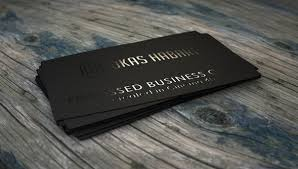 30 cool sles of embossed business cards