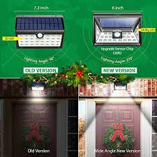wireless motion lights outdoor litom solar lights outdoor wireless 24 led motion sensor solar