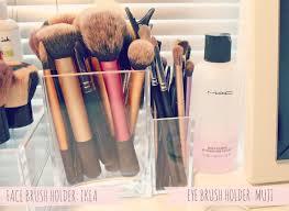 makeup brush holders dressing room pinterest makeup brush