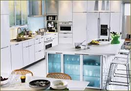 simple sink on u shaped kitchen design with black granite