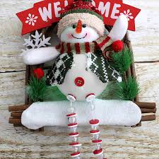 Christmas Tree Decorations Wholesale wholesale lighted hanging santa claus buy cheap lighted hanging