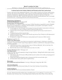 Entry Level Sales Resume Examples by Entry Level Pharmaceutical Sales Resume Free Resume Example And