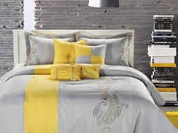 bedding set yellow and grey bedding simplicity comforter sets