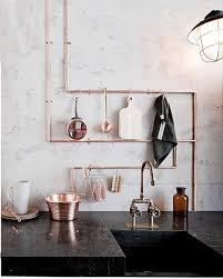 design inspiration u2013 cool u0026 chic industrial style plumbing pipe