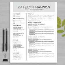 40 off modern resume template instant download by theresumemaker