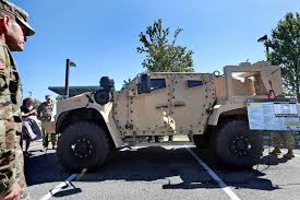 tactical vehicles move over humvee army shows off a new ride daily press
