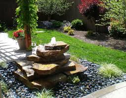 Backyard Fountains Ideas The Images Collection Of Ideas Of Modern Small Contemporary