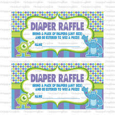 monsters baby shower instant download monsters baby
