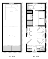 Mini House Floor Plans by The Haven 30 Tiny House Floor Plan Crtable