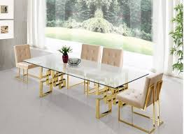 gold dining table set luxe lifestyles nyc luxe lifestyles nyc
