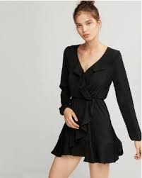 express dress great deals on express ruffle fit and flare mini dress