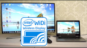 display tv miracast or widi wireless display stream from laptop to samsung