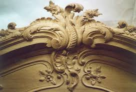 high relief carving grinling gibbons style woodcarving foliage
