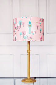 best pink lamp shade ideas white inspirations shades for girls