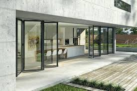 Frameless Patio Doors Bi Fold Glass Walls Sydney Glass Supply And Installation Folding