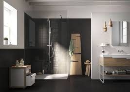 dark grey tile bathroom floor best bathroom decoration