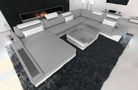 Modern Furniture In Orlando by Design Sectional Sofa Orlando Xxl With Led Lights