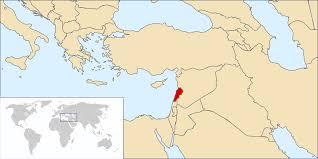 lebanon on the map atlas of lebanon in on world map besttabletfor me