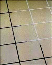 Grout Cleaning Tips Clean Grout Equal Parts Baking Soda Salt And Vinegar Let Sit