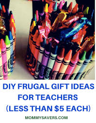 diy frugal gift ideas for teachers less than 5 each mommysavers