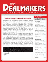dealmakers magazine september 26 2014 by the dealmakers