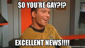 You Re Gay Meme - so you re gay excellent news ridiculously photogenic