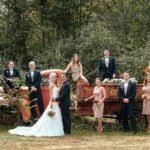 Rustic Backyard Wedding Ideas Rustic Backyard Wedding The Budget Savvy Bride Media Magazine