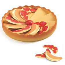 djeco cuisine djeco apple pie wooden play food toyjeanius