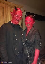 and mrs devil costume
