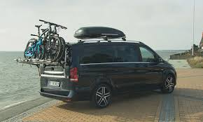 exploring sylt in the new v class mercedes benz