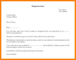 9 personal reasons resignation letters free sampleresignation