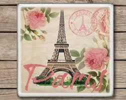 paris coasters etsy