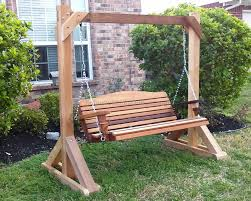 porch swing frame 1 best outdoor benches chairs flooring