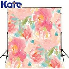 Cheap Backdrops Vinyl 3x5ft Photography Backdrops Flowers Theme Background For