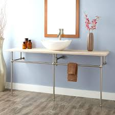 Smallest Powder Room - small double sink vanity tags console sinks for small bathrooms