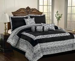 Bedding In A Bag Sets Order Comforter Sets Patchwork Faux Silk Black