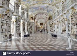 the admont abbey library hall is known for its baroque