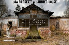 house decorate how to decorate your haunted house for halloween on a budget