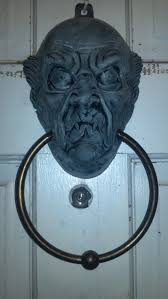 halloween props 2014 static haunted mansion esque door knocker