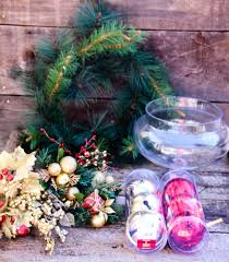 easy diy holiday centerpiece take time for style