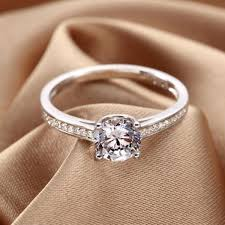 Personalized Engraved Rings New Personalized Diamond Rings Jewels Womens Ring Engravable Rings