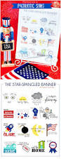 learning patriotic symbols free printable book includes the