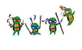 image gallery cute ninja turtle drawing