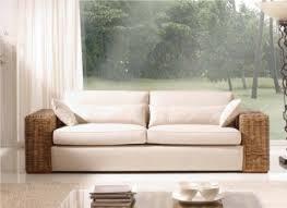canape en rotin canapé carena en rotin 2 ou 3 places de qualité meuble pour le