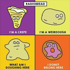 M Meme - i m a crepe radiohead know your meme