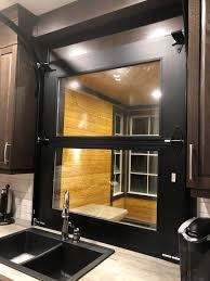 garage door for kitchen cabinet the glass view garage door represents versatility and
